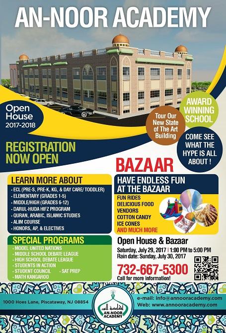 An-Noor Academy Open House & Bazaar