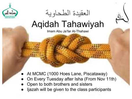 Class on Aqeedah at-Tahaweeyah Nov 2014