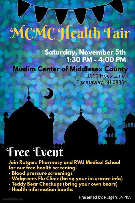 Health Fair on Nov 5