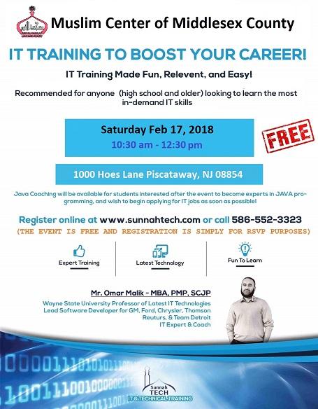 MCMC PDC Presents: IT Training Seminar