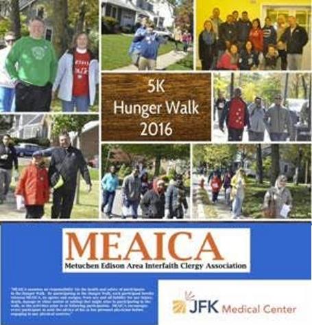 MEAICA & JFK Medical Center Presents: 5K Hunger Walk 2016