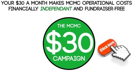 MCMC $30 Campaign