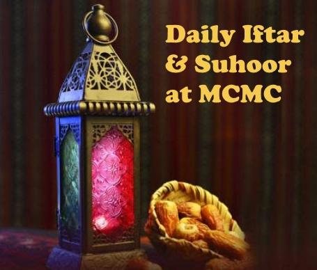 Daily Iftar Suhoor