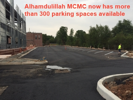 MCMC has more than 300 parkings at MCMC