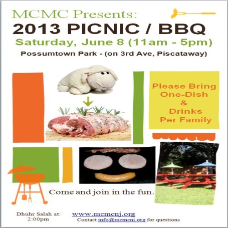 MCMC Summer Picnic 2013