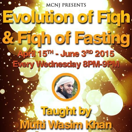 Evolution of Fiqh at MCNJ
