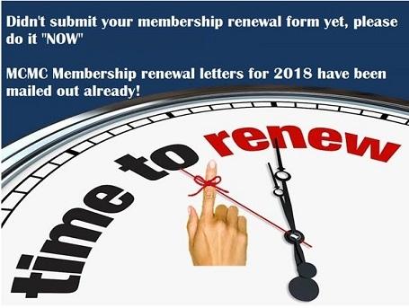 2018 Membership Renewal