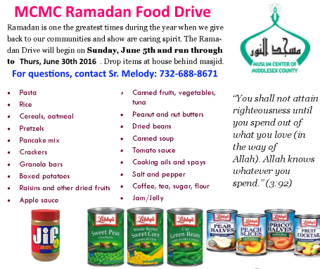 MCMC Ramadan Food Drive