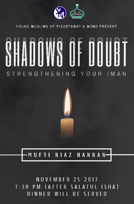MCMC & YM Piscataway Present: Shadows of Doubt